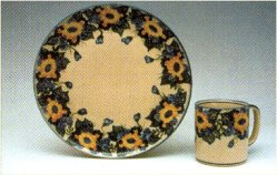 wr unikat pottery pattern