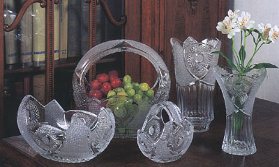 presses crystal vases and more