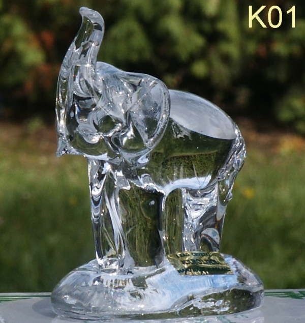 crystal figurine