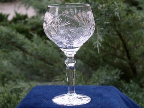 remer crystal wine glass