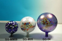 gazing globes three size comparison