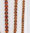 stringed amber beads