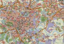 map of krakow