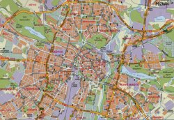 map of poznan
