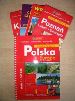 poland city map collection