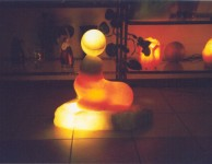 european specially carved salt lamp