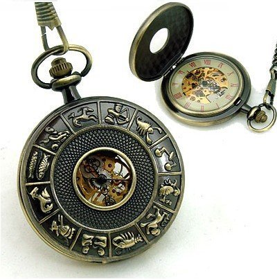 zodiac pocket watch